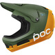 POC Coron Air Spin Helmet septane green/zink orange